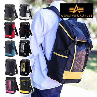 Alpha industries ALPHA INDUSTRIES! Backpack daypack 047320001 mens [store]
