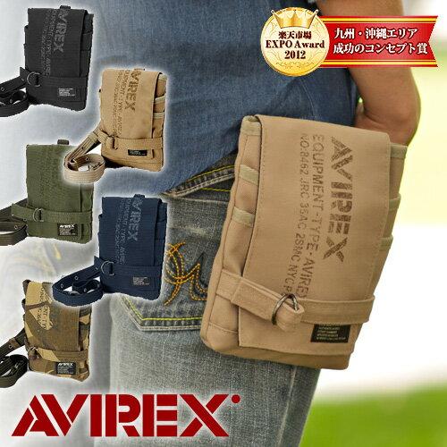 avirex!ショルダーバッグ チョークポーチ【EAGLE /イーグル】avx341 メンズ ギフト 男性用 斜めがけバッグ[ゆうパケット不可] プレゼント ギフト カバン ラッピング【あす楽】 父の日