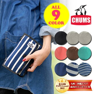 Chums CHUMS! Poach [Game Pouch Sweat] CH60-0628 (CH60-0255) men's gift women's wristlet: cat POS none