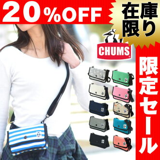"""CHUMS! Mini cosmetic shoulder bag [anti-sweating fabric] CH60-0727 Men and ladies Gift Shoulder bag Birthday gift [Rakuten 10x points] """"Postal parcel available"""" [F2-I3] [F3-B2] [chu10cou]"""