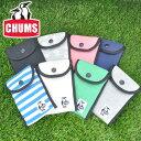 チャムス CHUMS!デジカメケース スマホケース ロングスナップケース 【スウェット】 [Long Snap Case Sweat] 「ネコポス可能」 ch6...