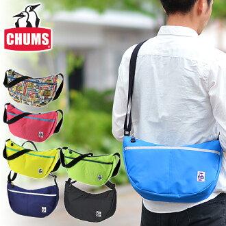 Kiamusze CHUMS! It is fs2gm a bag [point 10 times] at shoulder bag [nylon] [Small Banana Shoulder CD] CH60-0279