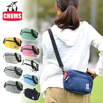 CHUMS! At shoulder bag shoulder porch [sweat shirt] [Shoulder Pouch Sweat] bags CH60-0627(CH60-0302) men gap Dis bias a bag