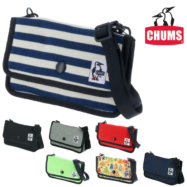 【P+9倍★12/13(木)当店限定】チャムス CHUMS ! ショルダーポーチ ミニポーチ 【スウェット】 [Mini Pouch Sweat] 「ゆうパケット可能」 ch60-0727 メンズ レディース 斜めがけバッグ 誕生日プレゼント プレゼント ギフト ラッピング 【コンビニ受取対応商品】 【あす楽】