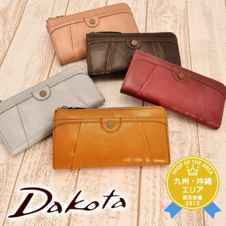 Dakota Dakota! It is fs2gm 33504 L character fastener long wallet [bread] Lady's [point 10 times] [RCP] [free shipping] [tomorrow easy correspondence] [easy ギフ _ packing]