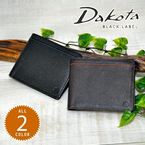 ダコタブラックレーベル Dakota black label!二つ折り財布 【リバーII】 625702 メンズ [通販]【ポイント10倍】【送料無料】 プレゼント ギフト【あす楽】