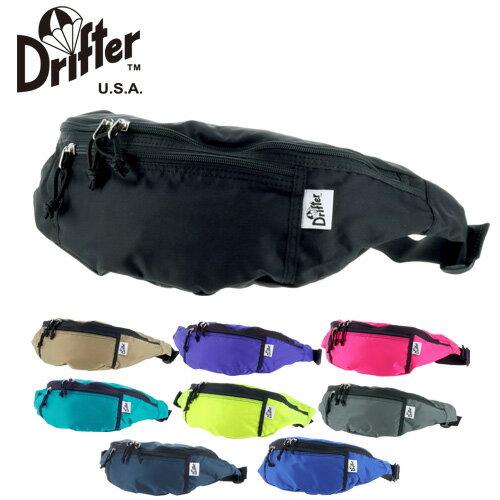 ドリフター Drifter!ウエストバッグ ファニーパック ボディバッグ [WAIST PACK/ウエストパック] dfv1550 メンズ レディース 【ポイント10倍】【あす楽】 【送料無料】 週末限定