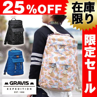 Gravis-Gravis! Stylish backpack daypack neo [NEO] 1281410 mens gift women's commuter school high school