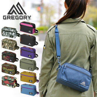 Gregory GREGORY! Shoulder pouch (M) men's ladies also bag