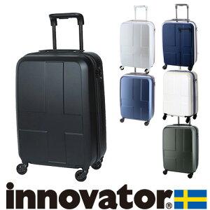 【マラソン期間 最大P21倍】 スーツケース 機内持ち込み キャリー ハード 旅行 イノベーター innovator 小型 38L 1泊〜3泊程度 inv48 メンズ レディース P10倍 ハードキャリー 修学旅行 キャリーケー