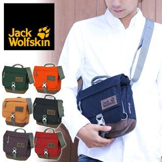 Jack Wolfskin Jack wolf skin! Shoulder bag Warwick Avenue also 2003991 men women