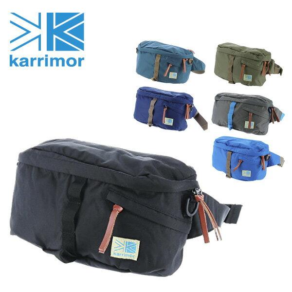 karrimor!2wayウエストバッグ 【travel×lifestyle/トラベル×ライフスタイル】 [[VT hip bag CL] メンズ レディース 斜めがけ 軽量【ポイント10倍】 プレゼント ギフト カバン【送料無料】【送料無料】 ラッピング【あす楽】