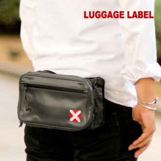 Yoshida Kaban ラゲッジレーベル LUGGAGE LABEL! Shoulder bag 951-09242 mens men's slant sauce bag West porch