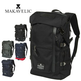 【P19倍※Rカード】マキャベリック MAKAVELIC リュックサック デイパック バックパック 大容量 【CHASE/チェス】 [DOUBLE LINE BACKPACK] 3106-10107 メンズ レディース 学生 通学 通勤【P10倍】 プレゼント ギフト ラッピング