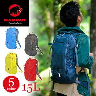 Mammut MAMMUT! Backpack daypack [LITHIUM SPEED 15 l, 25100317015 men's P27Mar15 [store]
