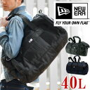 ボストンバッグ ニューエラ 2way ダッフルバッグ ショルダーバッグ NEWERA [Drum Duffle Bag] 旅行 メンズ レディース 修学旅行 ボ...