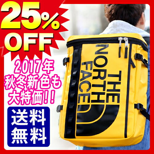 【P11倍!21日まで】【期間限定】緊急SALE★25%OFF★ 2017年秋冬新色 ノースフェイス THE NORTH FACE リュック バックパック リュックサック BASE CAMP [BC Fuse Box] nm81630 ヒューズボックス 通勤 通学 黒 高校生 PC収納 旅行 セール 送料無料 ラッピング【あす楽】