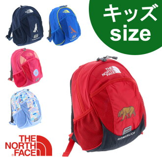 "THE NORTH FACE Backpack Daypack kids home slice [KIDS PACKS] [K Homes lice] nmj71405 Men Women Boys Girls Kindergarten School [10 times points ] [RCP]""postal parcel unavailable"" [10% off for north lucky bag]"