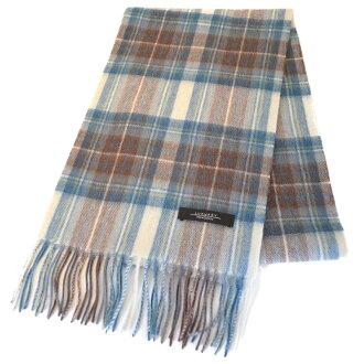 폭신폭신 후수람즈워르 100% UK영국 디자인 큰 격자 줄무늬 머플러 울 머플러 16.스튜어트 블루 드레스