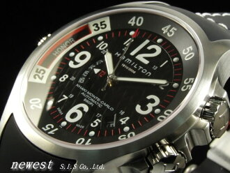 Global Limited Edition 2006! Hamilton KHAKI NAVY GMT POSEIDON MONTE CARLO LIMITED EDITION H77675333 auto volume