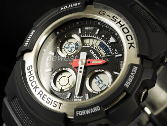 Casio g-shock g-shock analog / digital combination AW-590-1 A model arm: total overseas