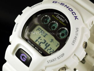 Casio G-SHOCK tough solar deployment G-6900A-7 white watch foreign countries model
