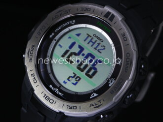 11 / 13 I will be in stock! CASIO protrek PRW-3100-1 black and overseas models watch Casio PRO TREK