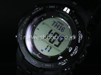 CASIO Casio proto Lec PRW-3100FC-1 black foreign countries model watch
