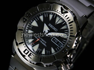 SEIKO Seiko SUPERIOR superior SRP307J1 black x silver reverse models made in Japan watch