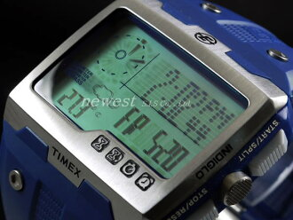 TIMEX Timex远征WS4 Wide Screen 4 Function T49760蓝色手表