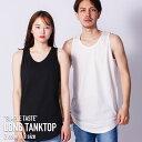 タンクトップ オーバーサイズ メンズ 半袖 綿100% 大きいサイズ ビッグシルエット ノースリーブ コットン 送料無料 男女兼用 ユニセックス ティーシャツ M/L 夏 夏服 夏物 BIG テレワーク ゆったり ゆるサイズ