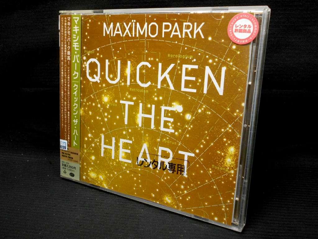 ZC20263【中古】【CD】QUICKEN THE HEART/MAXIMO PARK