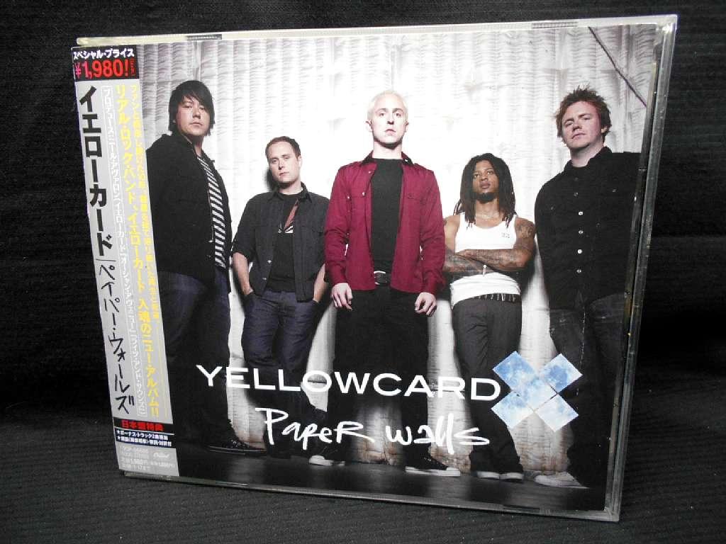 ZC20762【中古】【CD】ペイパー・ウォールズ/イエローカード