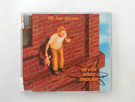 ZC59340【中古】【CD】MY LAST EXCUSE/NEVER GOOD EN