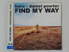 ZC68634【中古】【CD】FIND MY WAY/haru×daniel powter
