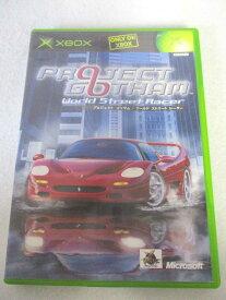 AG01167 【中古】 【ゲーム】 PROJECT GOTHAM World Street Racer/プロジェクトゴッサム:ワールドストリートレーサー/XBOX/レース