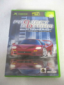 AG01168 【中古】 【ゲーム】 PROJECT GOTHAM World Street Racer/プロジェクトゴッサム:ワールドストリートレーサー/XBOX/レース