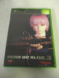 AG01176 【中古】 【ゲーム】 DEAD OR ALIVE3/デッドオアアライブ3/XBOX/格闘/アクション