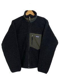 08年製 patagonia Classic Retro-X Jacket 黒 XS 00s パタゴニア レトロX フリースジャケット アウトドア ブラック 23056 F8【中古】
