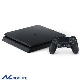 【新品未使用】PlayStation 4 ジェット・ブラック 500GB (CUH-2200AB01) ▽▲ おうち時間