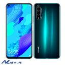 HUAWEI NOVA 5T 8GB 128GBグリーン 国内版SIMフリー スマートフォン ファーウェイ