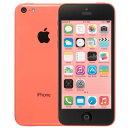 アップル iPhone 5c SIMフリー モデル 16GB ピンク 整備済み品