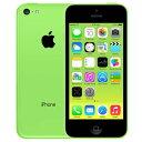 アップル iPhone 5c SIMフリー モデル 16GB グリーン 整備済み品