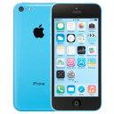 アップル iPhone 5c SIMフリー モデル 16GB ブルー 整備済み品
