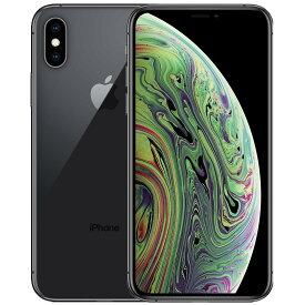 アップル iPhoneXs SIMフリー 国内モデル 256GB スペースグレイ 整備済み品 格安SIM 対応 A2098 MTE02J/A テレワーク 在宅勤務 在宅ワーク に