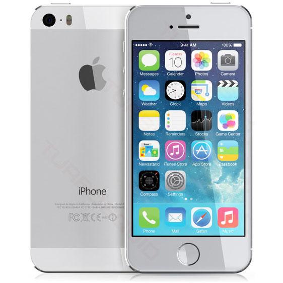アップル iPhone 5s SIMフリー モデル 16GB シルバー 修理完了品