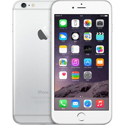 アップル iPhone 6 Plus SIMフリー モデル 16GB シルバー 整備済み品