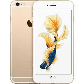 アップル iPhone6s Plus SIMフリー モデル 16GB ゴールド 整備済み品 格安SIM 対応