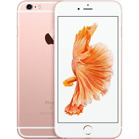 アップル iPhone6s Plus SIMフリー モデル 16GB ローズゴールド 整備済み品 格安SIM 対応