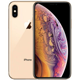 アップル iPhoneXs SIMフリー 国内モデル 64GB ゴールド 整備済み品 格安SIM 対応 A2098 MTAY2J/A テレワーク 在宅勤務 在宅ワーク に